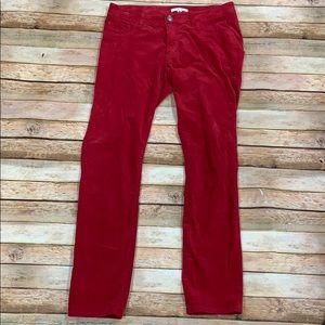 Cabi Red Corduroy Pants
